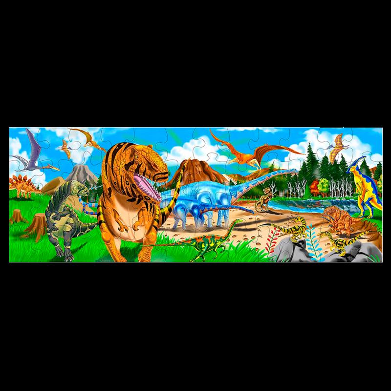 Melissa & Doug Rompecabezas Tierra de Dinosaurios