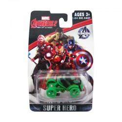 Carro estilo Avengers Hulk