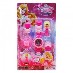 Reloj estilo princesas...