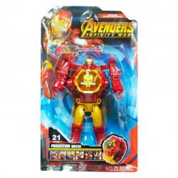 Reloj estilo Iron Man