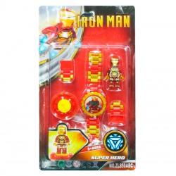 Reloj armable estilo Iron Man