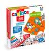 Carioca Rompecabezas para Colorear + 12 Marcadores de Aventuras