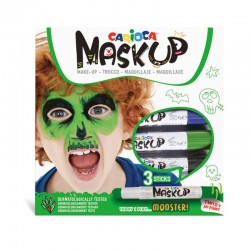 Carioca Mask Up Monster! (3...