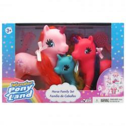 Wonder Pony Land Familia de...