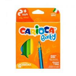 Carioca Baby 10 Lápices...