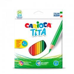 Carioca Tita 24 Lápices de...
