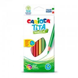 Carioca Tita 12 Lápices de...