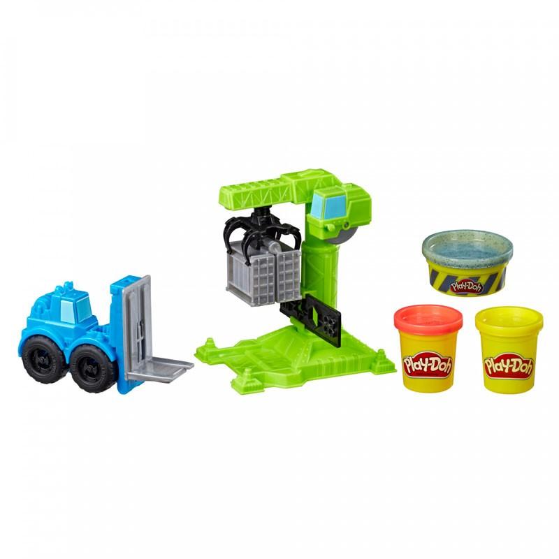 Play-Doh Wheels Grúa y...