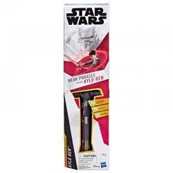 Star Wars sable de luz rojo...