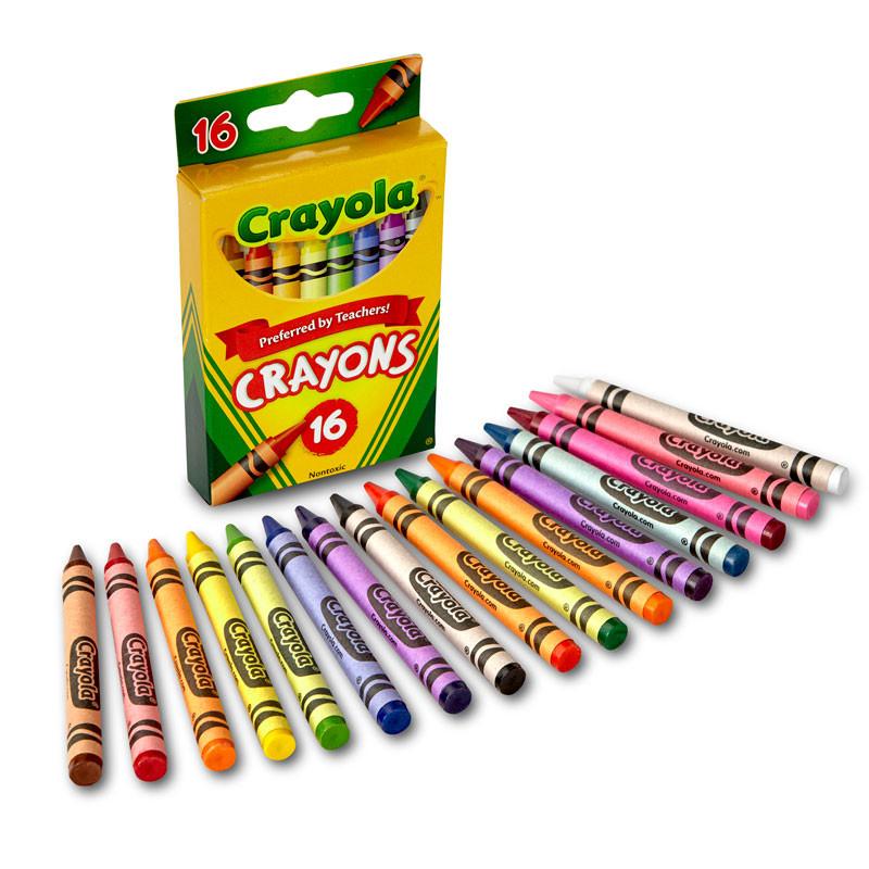 Crayola Paquete de 16 Creyones