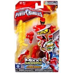 Power Rangers  Mixx N Morph - Dino Changer Red Ranger