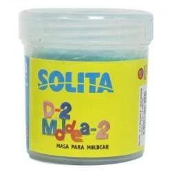 SOLITA - D-2 Moldea-2 Masa para Moldear Celeste