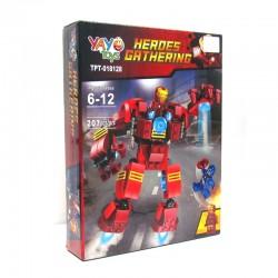 Juego Armable - Robot Iron Man