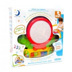 Tambor Multifuncional para bebés con luces y sonidos