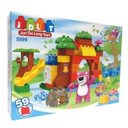 Juegos de bloques Happy Bear