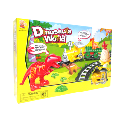 Super Pista Mundo De Dinosaurios