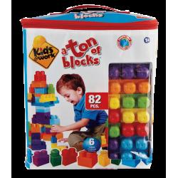 Kids Work - 82 Pcs Bloques
