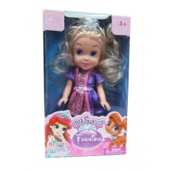 Muñeca Rapunzel - 17 cm