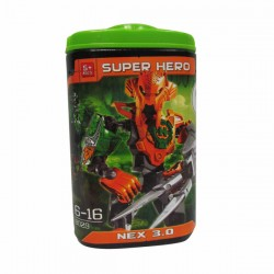 Figura Armable Super Hero NEX 3.0