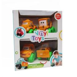 Vinyl Toys - Cartoon Car Series Remolque