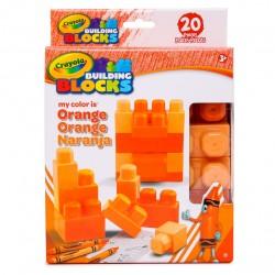 Crayola – Bloques de Construcción Naranja