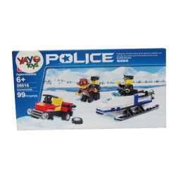 Juego Armable - Policia Nieve
