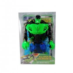 Figura Armable Super Heroe Hulk