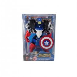 Figura Armable Super Heroe Capitán América