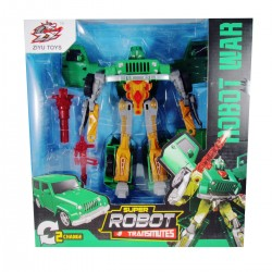 Super Robot Transformers