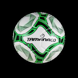 Balón de Fútbol Sala Blanco con Verde de Tamanaco
