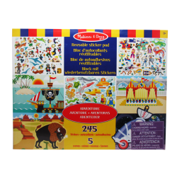 "Melissa & Doug - Stickers ""Aventura"""