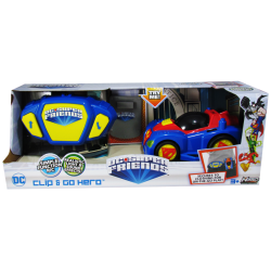 DC Clip & Go Hero Carro Surtido SuperMan