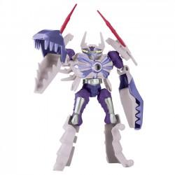 Power Rangers Mixx N' Morph - White Claw Rangerzord Figura de Acción