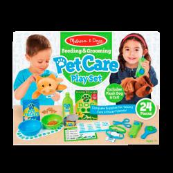 Melissa & Doug Set de juegos para el cuidado de mascotas