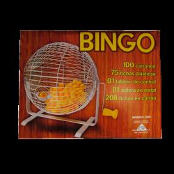 Bingo Profesional con Esfera de Metal