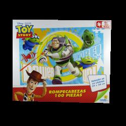 Rompecabezas Disney Toy Story de 100 Piezas