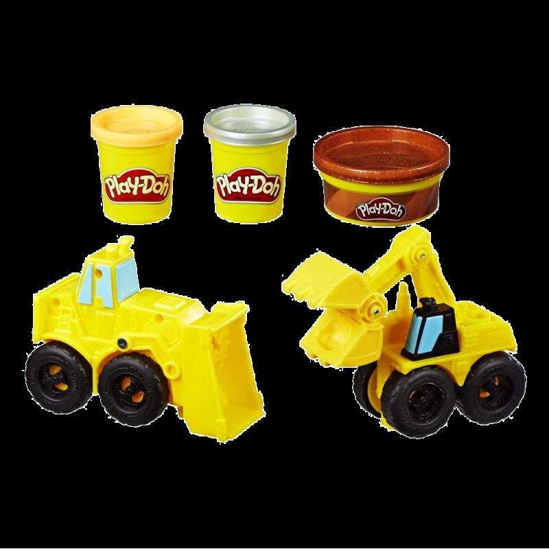 Play-Doh Excavadora y Cargadora