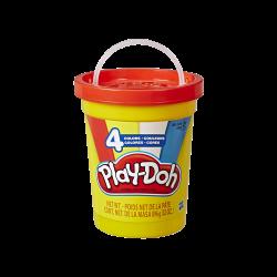 Play-Doh 4 Colores Tapa Roja