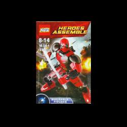 Figura Armable Heroes Assemble estilo Marvel - Deadpool