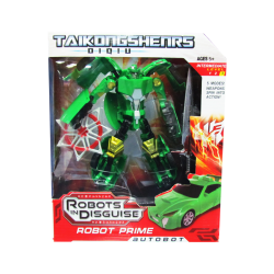 Transformers Robots In Disguise Color Verde