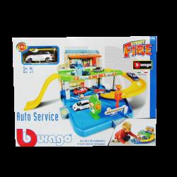 Bburago Street Fire Auto Servicio