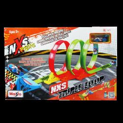 Maisto Pista NXS Racers Triple Loop