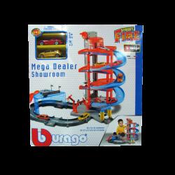 Bburago Street Fire Mega Dealer Showroom