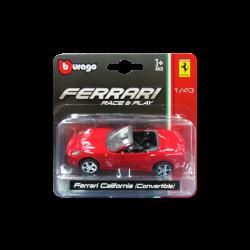 Bburago Ferrari California Convertible 1/43