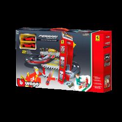 Bburago Ferrari Downhill Racing Garage