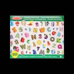 Melissa & Doug - Stickers del Alfabeto con Números
