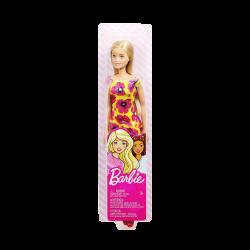 Barbie vestido de flores amarillo