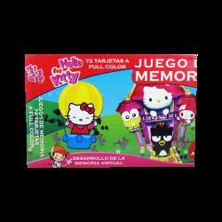 Juego de memoria al estilo Hello Kitty