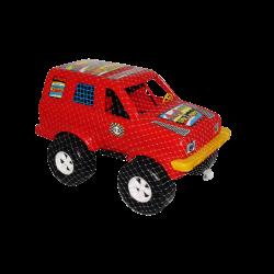 Carro de Plástico estilo Jeep Grande Rojo