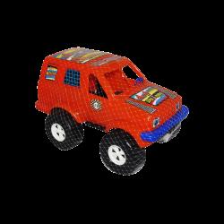 Carro de Plástico estilo Jeep Grande Naranja